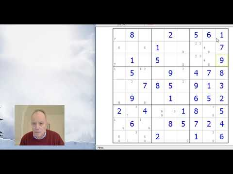 'Hard' sudoku made easy - with this simple method