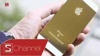Schannel - World's first 24K gold-plated iPhone SE hands on