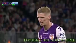 Funny Action Of Andrew Redmayne Goalkeeper Help Sydney FC Win Perth Glory  Grand Final Australia