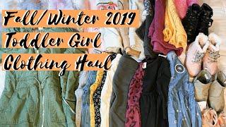 Huge Toddler Girl Clothing Haul  - Fall Winter 2019