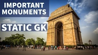 Important monuments and places in India