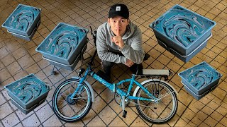 Dypper Min Brors EL-Cykel i Maling! (SURPRISE)
