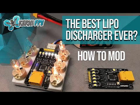 Discharge Lipo Battery URUAV