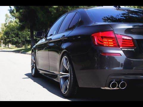 Dinan F10 BMW 550xi Gets Eisenmann Exhaust, H&R Springs, & Avant Garde Wheels @ ModAuto