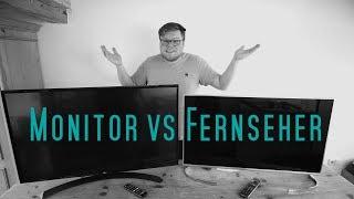 Fernseher als Monitor verwenden?! | Fernseher am PC?!