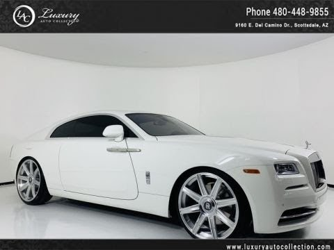 Pre-Owned 2016 Rolls-Royce Wraith Coupe