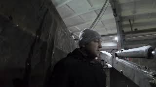 Мороз. Замена РВД на стреле манипулятора ВЕЛМАШ ОМТ-97М. Ремонт в тепле даже мелкий очень приятен