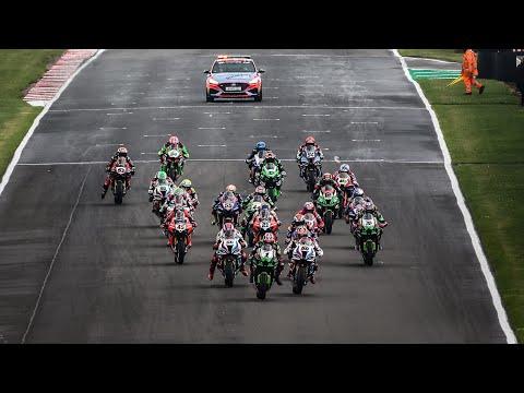 スーパーバイク世界選手権 SBK 第4戦イギリス ドニントンパーク Race 1のハイライト動画
