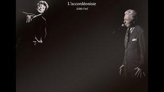 L'accordéoniste. Аккордеонист. Daniel Lavoie - Piaf a 100 ans...