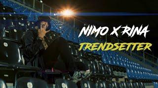 Musik-Video-Miniaturansicht zu Trendsetter Songtext von Nimo & RINA