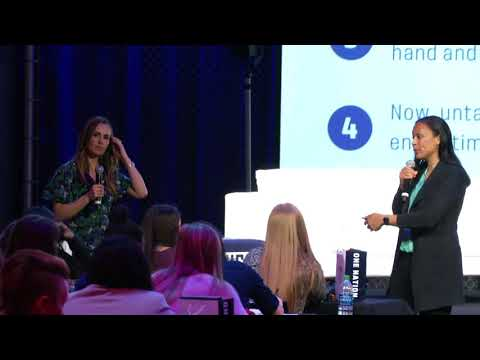 SheBelieves Summit: Sports Leadership - Angela Hucles and Heather Mitts