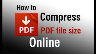 How to compress PDF file size online