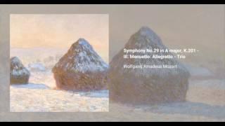 Symphony No. 29 in A major, K. 201/186a