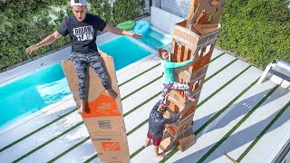 TALLEST BOX FORT WINS $10,000