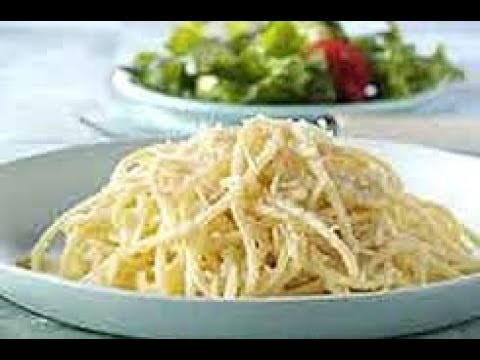 How to Make  Easy Parmesan Spaghetti
