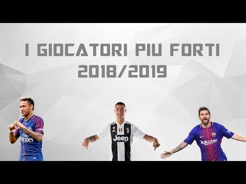 I 10 GIOCATORI PIU FORTI DEL MONDO 2018/2019