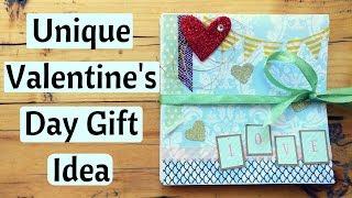 DIY Valentine Gift  Pop Up Squash Book/Card ❤|| Birthday gift for Him/Her
