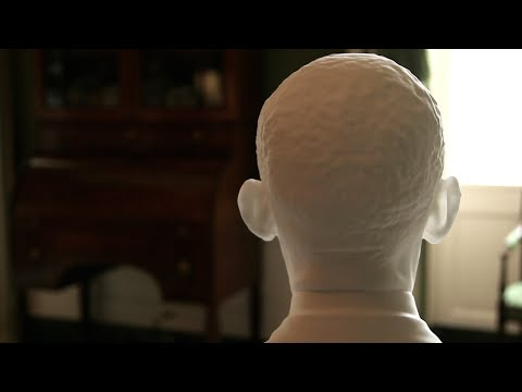 The First 3D-Print of a President