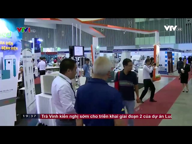 Pharmed & Healthcare Vietnam 2017 in VTV1 news