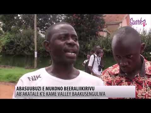 Abasuubuzi e Mukono beeraliikirivu olwamawulire g'okusengula akatale