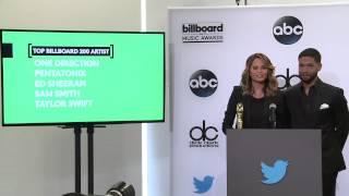Top Billboard 200 Artist Finalists - BBMA Nominations 2015