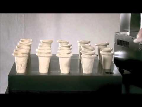 video 1, Vitrine chauffante rotative pour cônes à pizza
