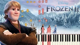 Lost In The Woods (Jonathan Groff)   Frozen 2 | Piano Tutorial (Synthesia)