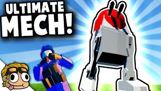 MOST POWERFUL OP MECH EVER! | Ravenfield Weapon and Vehicle Mod Beta Gameplay