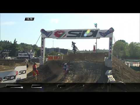 Gajser and Seewer battle - MXGP Race 2 - MXGP of Italy - Imola 2019