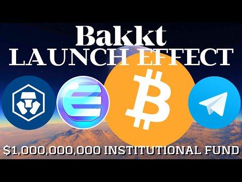 BAKKT Effect on BITCOIN Price? Institutional Money | Telegram TON | Enjin ENJ | Crypto.Com MCO