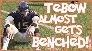 TIM TEBOW ALMOST GETS BENCHED!! - Madden 16 Ultimate Team | MUT 16 XB1 Gameplay