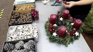 Adventskränze und Deko: Im hagebaumarkt wird es festlich