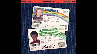 Riton & Kah Lo   Fake ID [Official Audio]