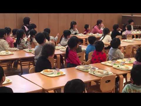 平成30年度 みなみ保育園 誕生日会食会(1月)