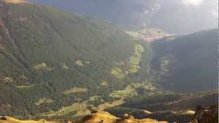 preview picture of video 'great view from Cimone delle Valli - Vezza d'Oglio, Alps, Italy'