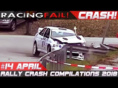 Rally Crash Compilation Week 14 April 2018 | RACINGFAIL