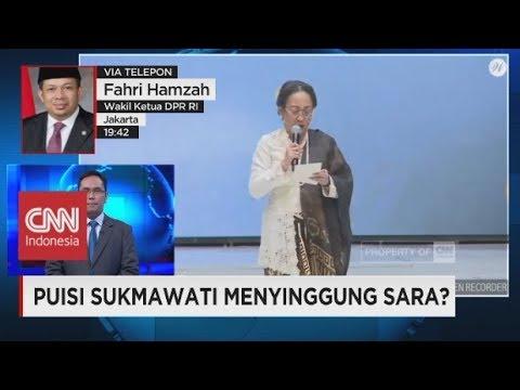 Fahri Hamzah Sebut Kesalahan Puisi Sukmawati