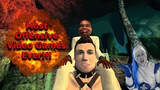 Top 10 Most Offensive Video Games Ever!!!