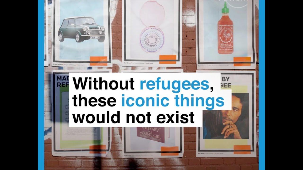 Made by refugee: Αυτά που δε θα υπήρχαν χωρίς τους πρόσφυγες