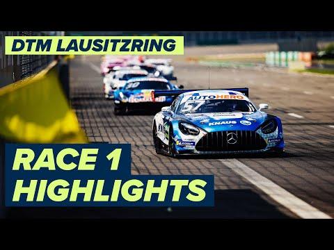 DTM ラウジッツリンク(ドイツ) レース1のハイライト動画