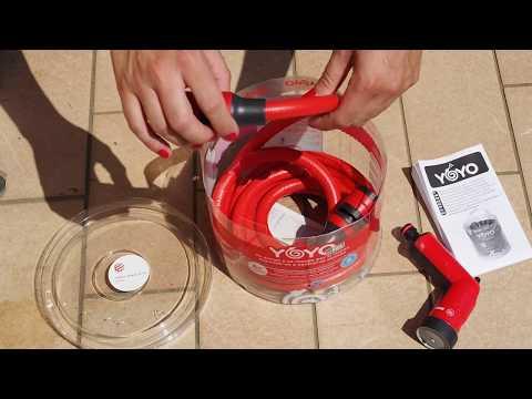 YOYO 60 sec - Come utilizzare al meglio un tubo da giardino estensibile