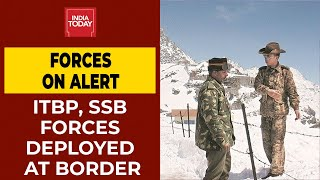 ITBP, SSB Forces Put On Alert Along India-China Border After High-Level Home Ministry Meet | BREAKING  IMAGES, GIF, ANIMATED GIF, WALLPAPER, STICKER FOR WHATSAPP & FACEBOOK