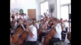preview picture of video 'Orchestra sinfonica di Basilea a Campobello di Mazara. Le prove'