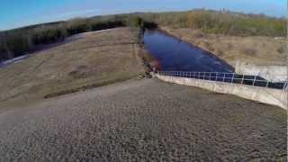 preview picture of video 'Guelph Lake Dam Aerial'