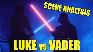 Scene analysis: Luke Skywalker vs Darth Vader in THE EMPIRE STRIKES BACK (updated) - Video Youtube