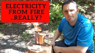 Fire + Heat = Electricity: Biolite Stove Review