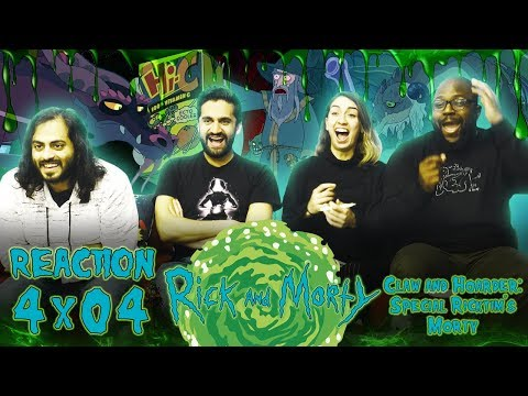 Rick and Morty - 4x4 Claw and Hoarder: Special Ricktim's Morty - Reaction