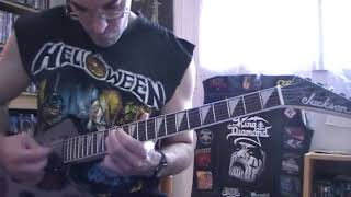 Anvil -  Metal on metal (Guitar cover)