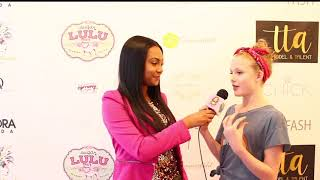Riley McEvoy talks anti-bullying during KidFash Magazine's NYC Fashion Show
