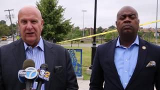 Two teen boys shot in Newark